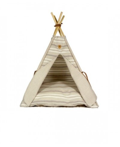 Camel Striped Teepee