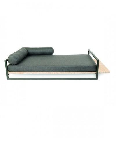 Metalwood bed