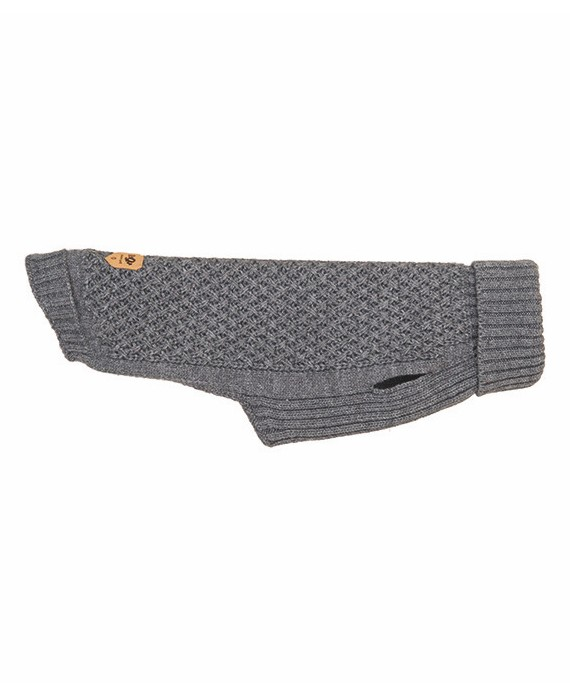 Grey Knitted Jersey – Elton Grey