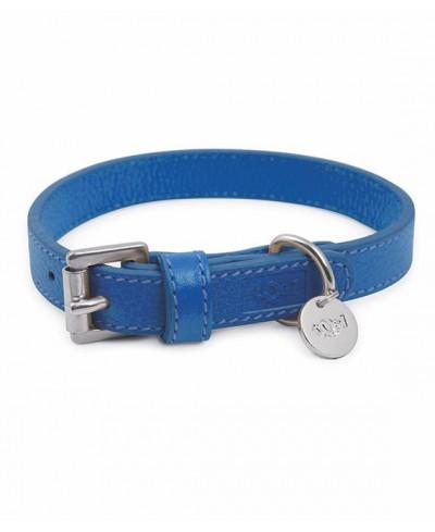 Lederband Capri blau