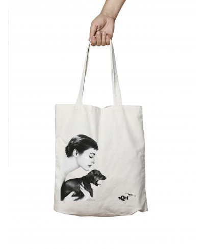 Dachshund Audrey Tote Bag