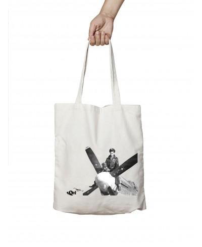 Dachshund Plane Tote Bag