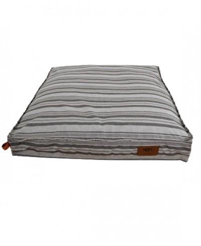 Glaciar square dog bed
